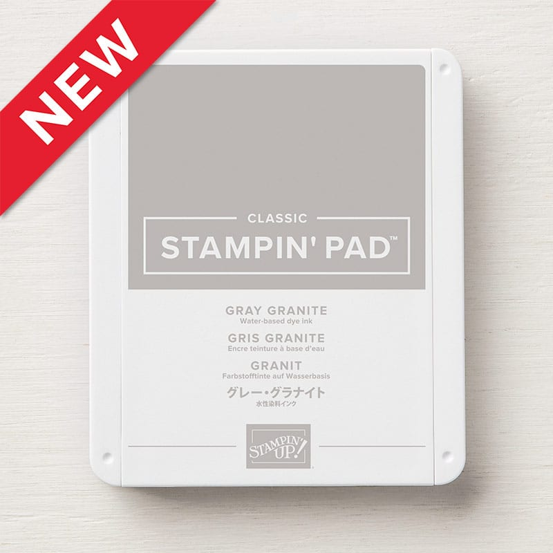 Stampin´ Pad Gray Granite