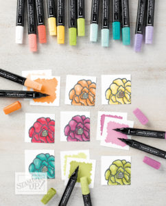 Stifte und Blumen