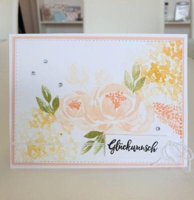 Glückwunschkarte