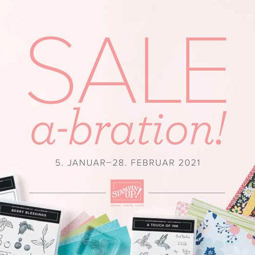 Stampin' Up! Sale A Bration 2021