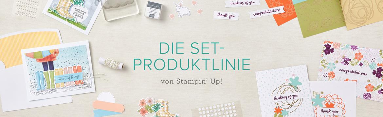 Die Set-Produktlinie Banner