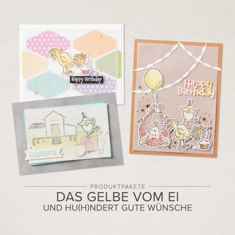 Produktpaket Das Gelbe vom Ei und Hu(h)ndert gute Wünsche